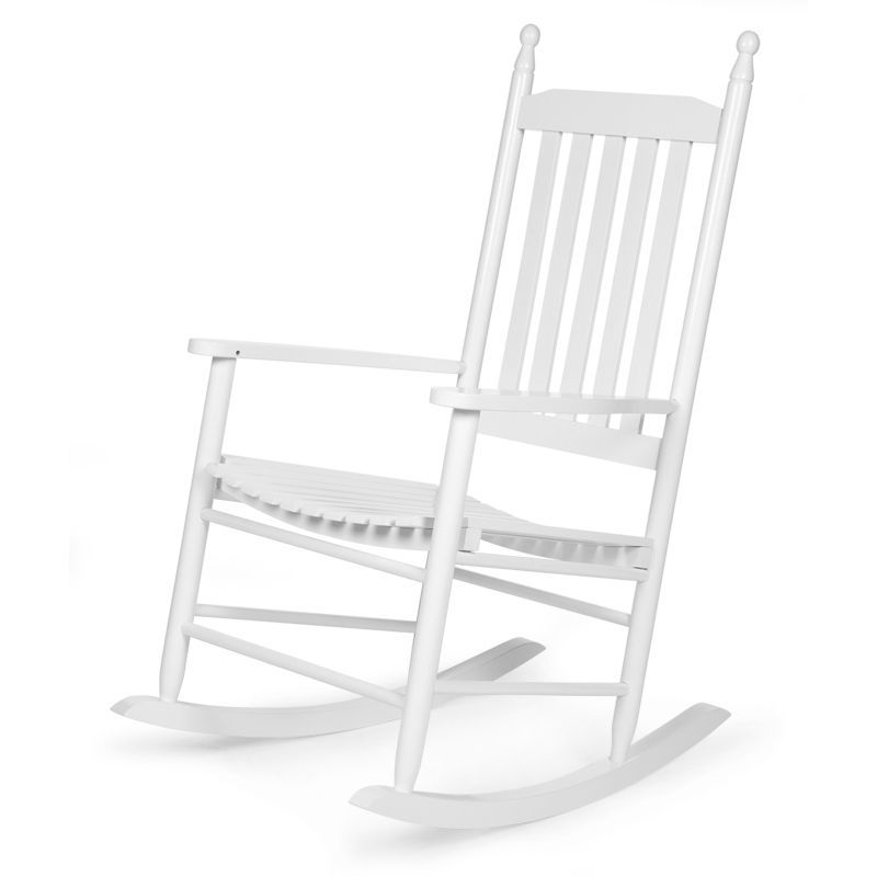 ROCKING CHAIR BLANC + COUSSIN