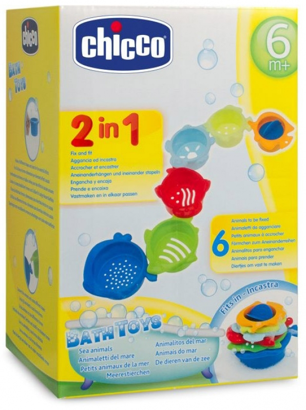 Chicco Bath toys marine animals