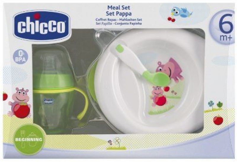 SET PAPPA CHICCO 6M+