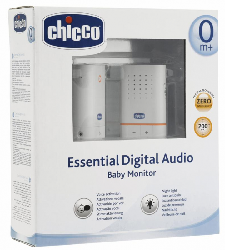 ECOUTE BEBE CHICCO ESSENTIAL DIGITAL AUDIO